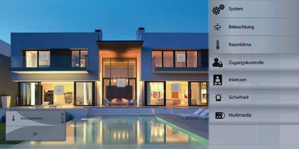 CR home automation vision living